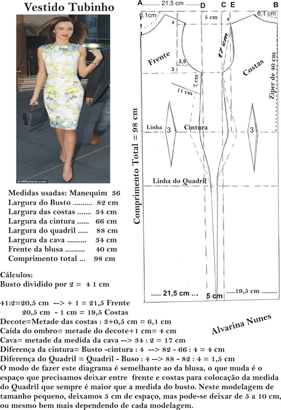 Populares Costura e Modelagem NK78
